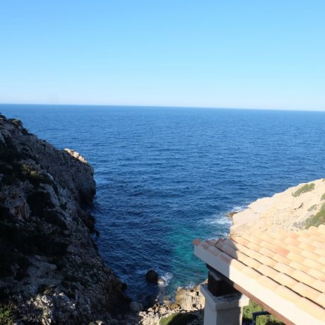 3 bedroom frontline villa for sale in Cala Vadella, Ibiza.