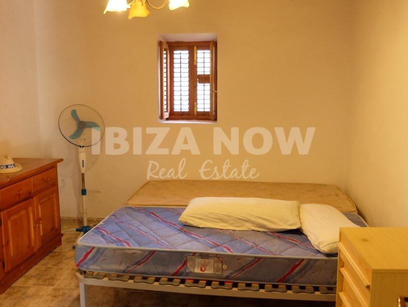Authentic 3 bedroom Finca for sale in Cala Vadella, Ibiza