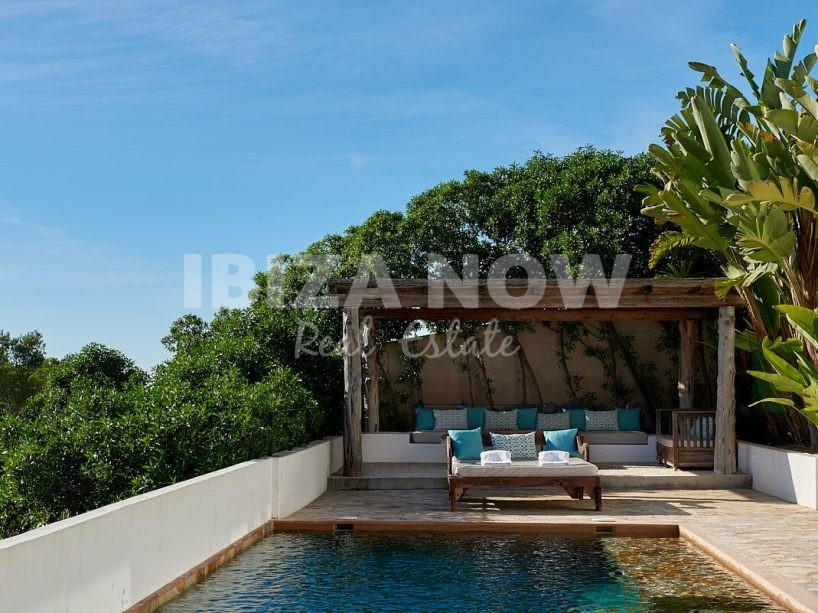 Modern 5 bedroom villa with rental license for sale in Es Cubells, Ibiza