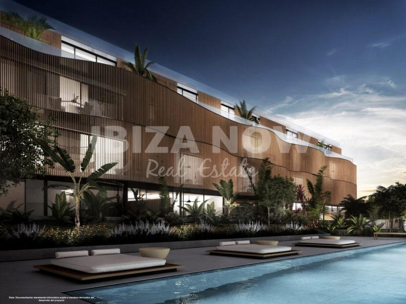 New to build 2 bedroom penthouse for sale in Talamanca, Ibiza, Spain
