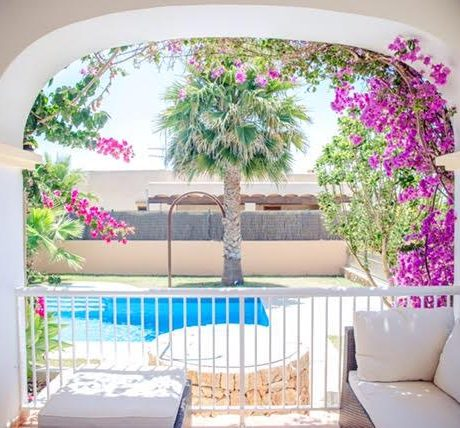 3 bedroom house for sale with rental license in Ibiza, Spain.