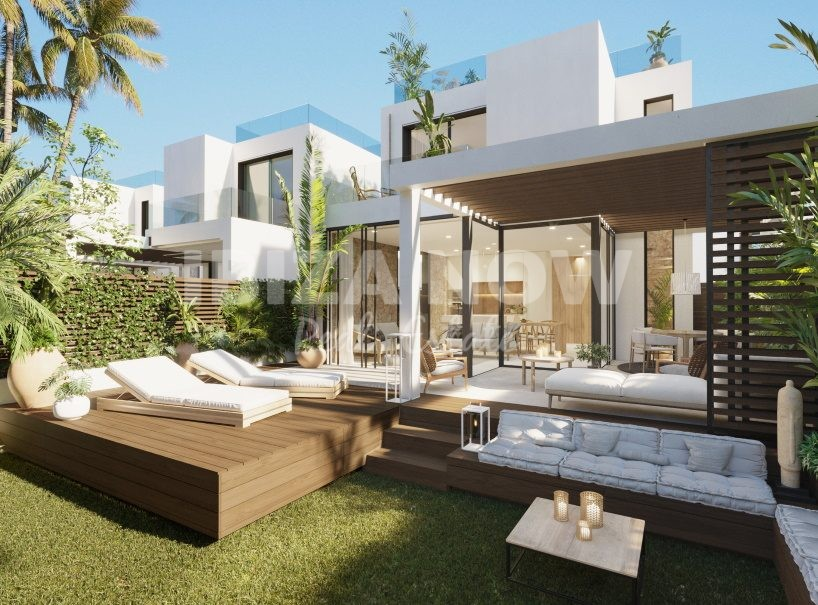 New build 3 bedroom houses within walking distance to the beach of Cala Tarida, Ibiza