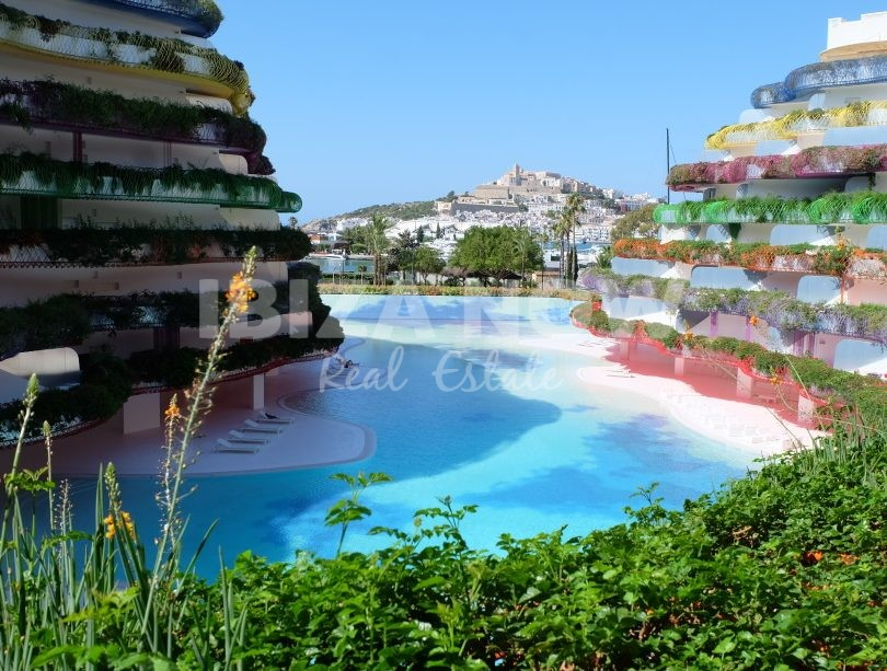 Modern 2 bedroom apartment for sale in Ibiza, Spain.