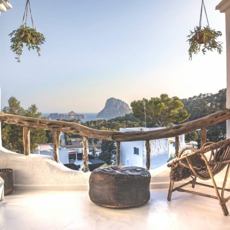 Beautifully renovated studio for sale in Cala Vadella, Ibiza, Spain.