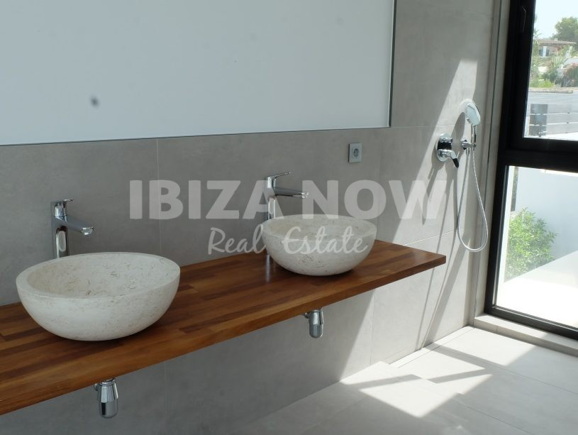 Modern new build house for sale in Ses Torres, Talamanca, Ibiza, Spain