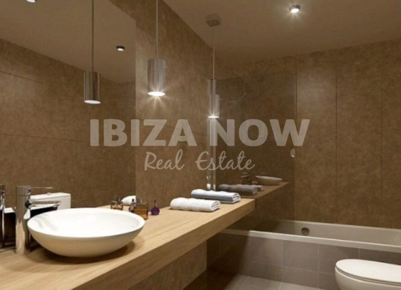 New build 2 bedroom apartment for sale in Cala Vadella, Ibiza, Spain