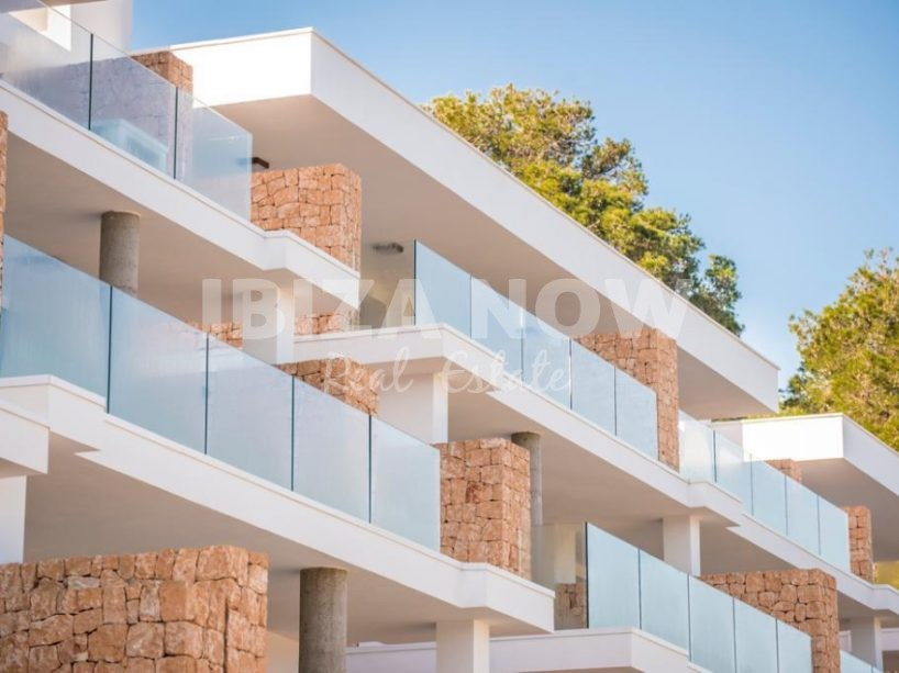 New build 2 bedroom apartment for sale in Cala Vadella, Ibiza, Spain.