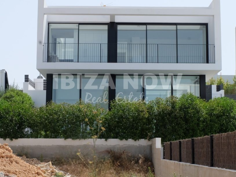 Modern new build house for sale in Ses Torres, Talamanca, Ibiza, Spain.