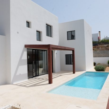 Modern new built villa for sale in Talamanca, Ibiza.