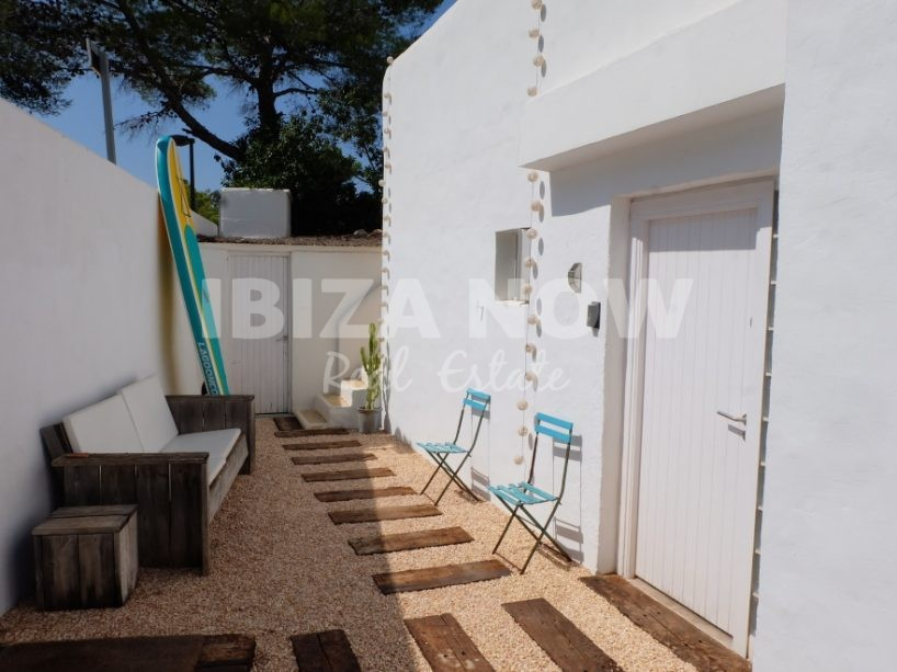 Nice Ibiza style house with 4 bedrooms for sale in Cala Vadella, Ibiza