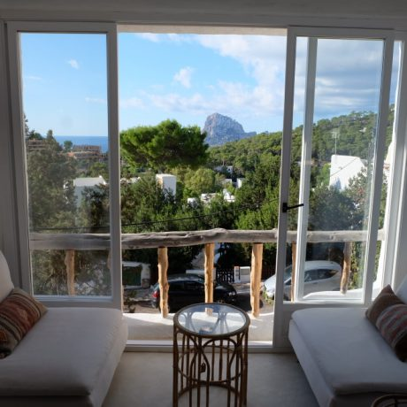 1 bedroom apartment for sale with views to Es Vedra, Ibiza.