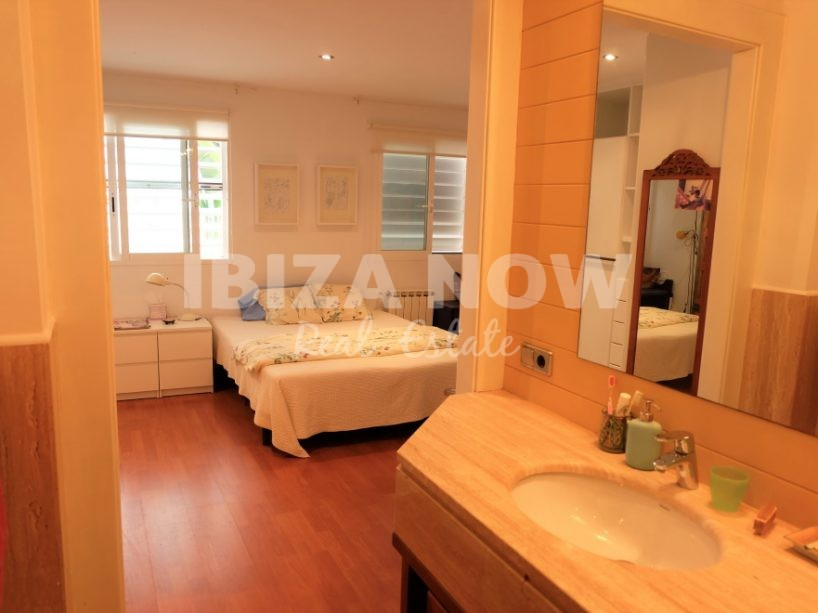 Large 2 bedroom ground floor apartment for sale in Talamanca, Ibiza, Spain