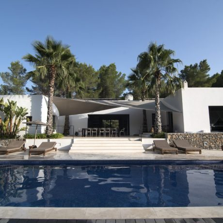 Modern 5 bedroom villa for sale close to Ibiza town, Ibiza.