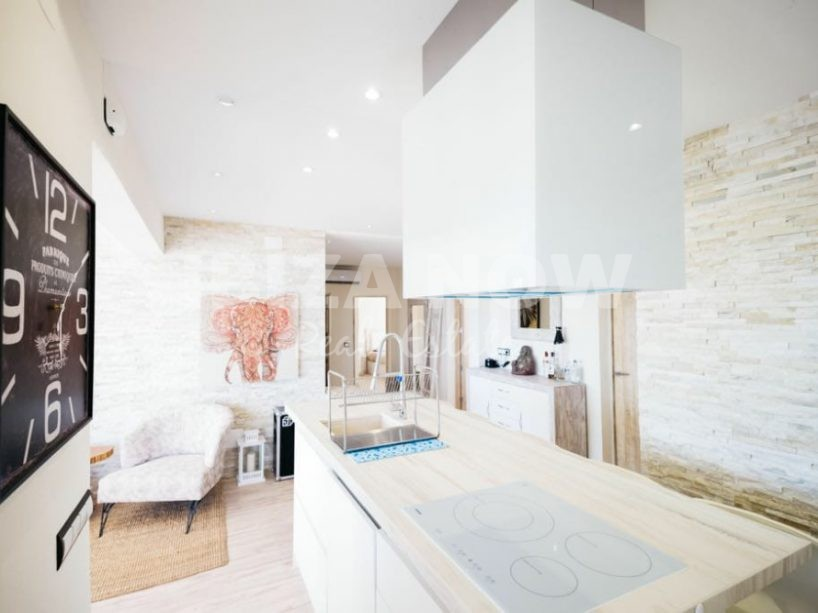 Frontline 4 bedroom house for sale close to the beach and Ibiza town, Ibiza, Spain