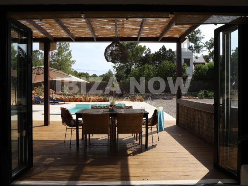 Nicely renovated 3 bedroom house for sale in Cala Vadella, Ibiza