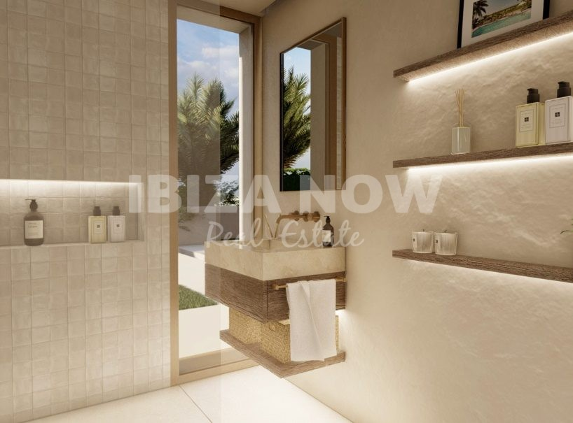 16 luxury apartments all with sea view for sale in Talamanca, Ibiza