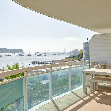 Large 3 bedroom apartment for sale with views to Talamanca beach, Ibiza